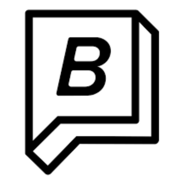 Logo for Bustle Magazine