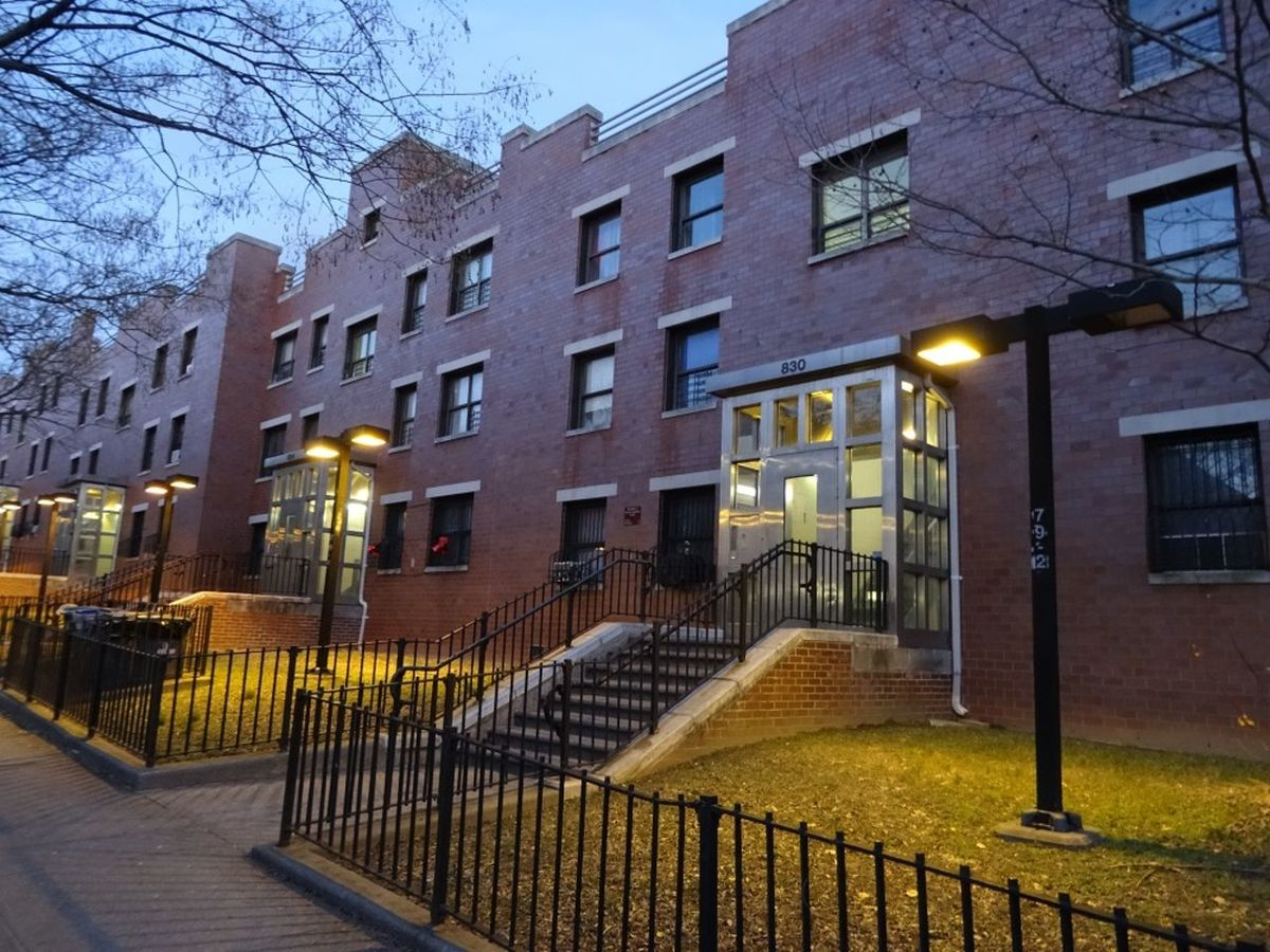 A Nycha property comprising 4 buildings where residents have not had heat for 10 winters in a row.