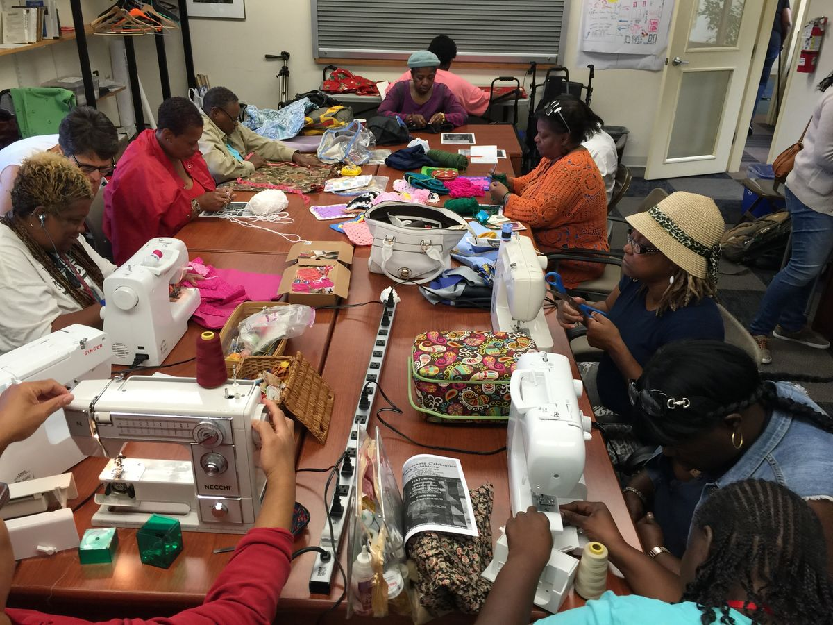 DC Sewing Class with Bread for the City