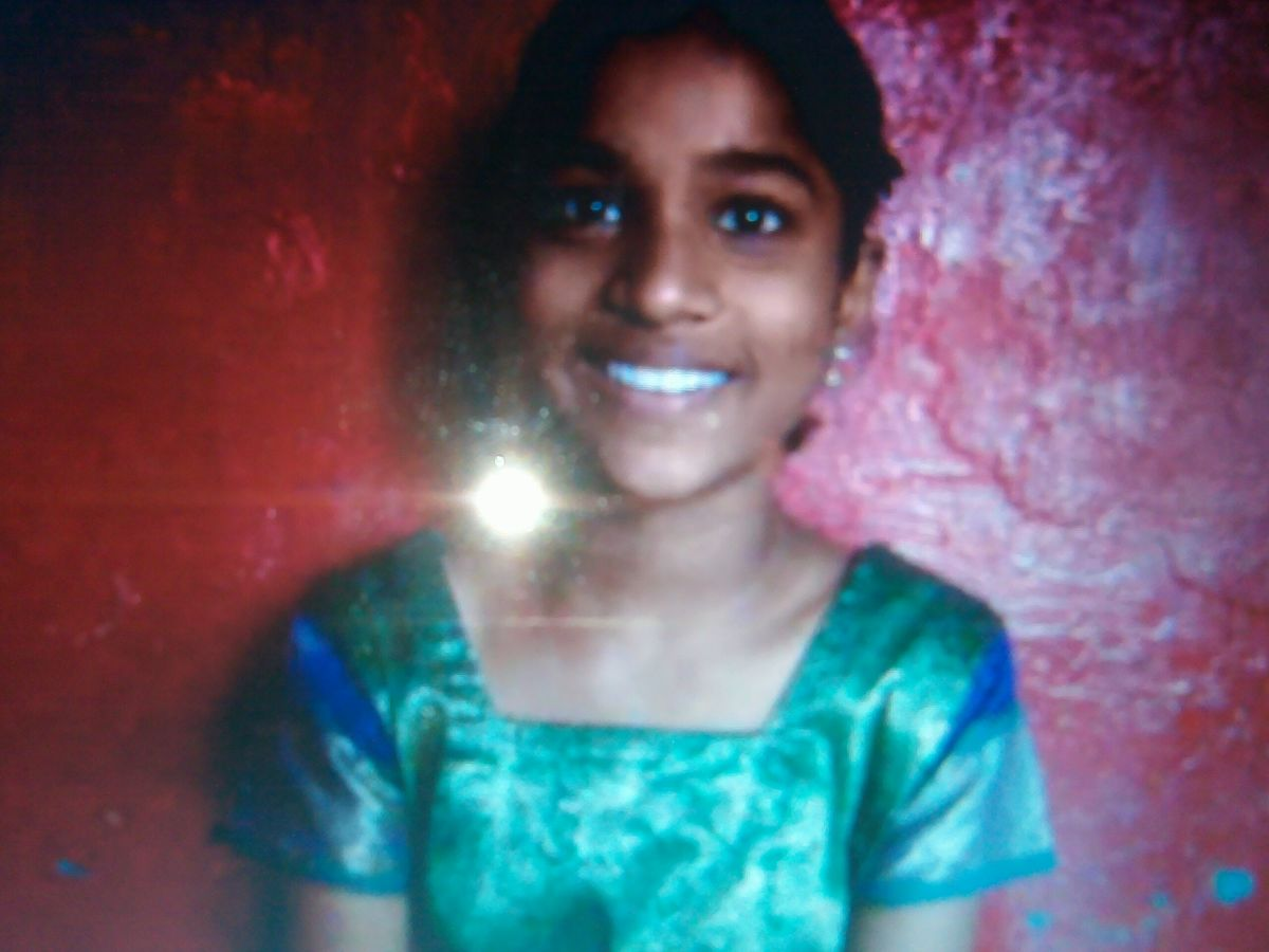 photo of Maladevi, a girl in Madurai India