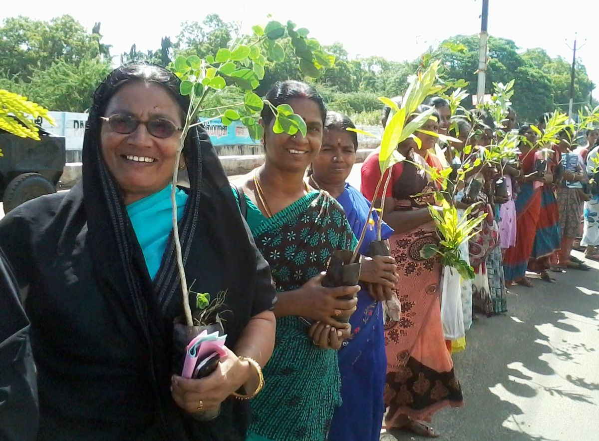 Indian Women Trees