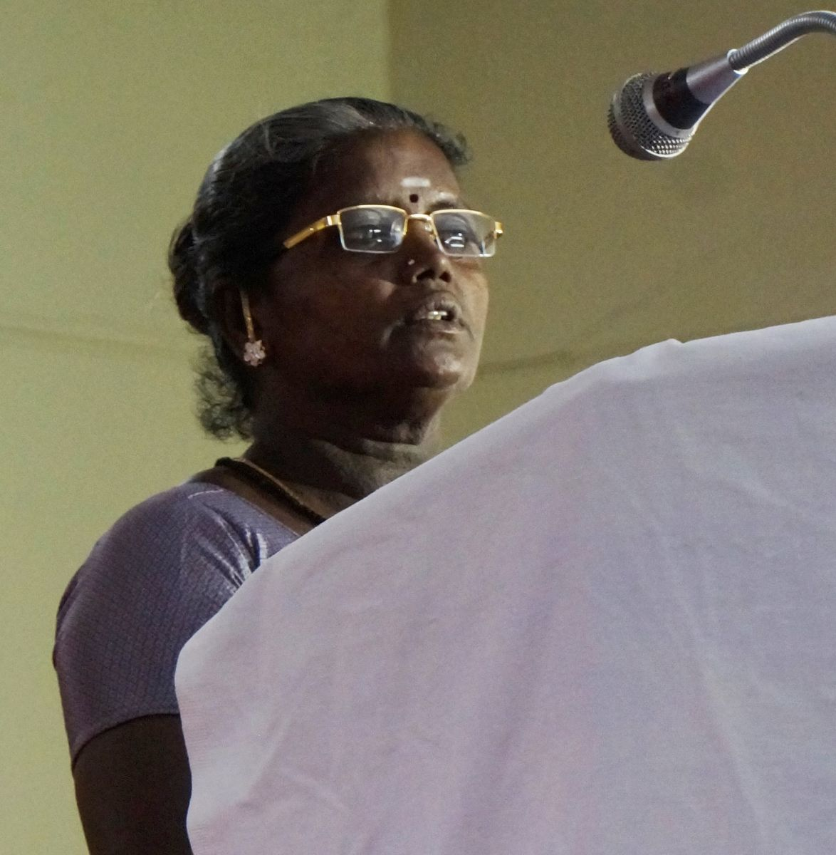 Muthulakshmi tells her story of moving out of povery