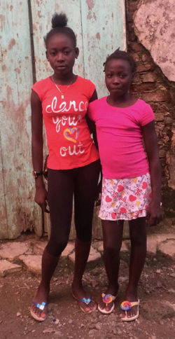 GLF Safety Haiti Girls