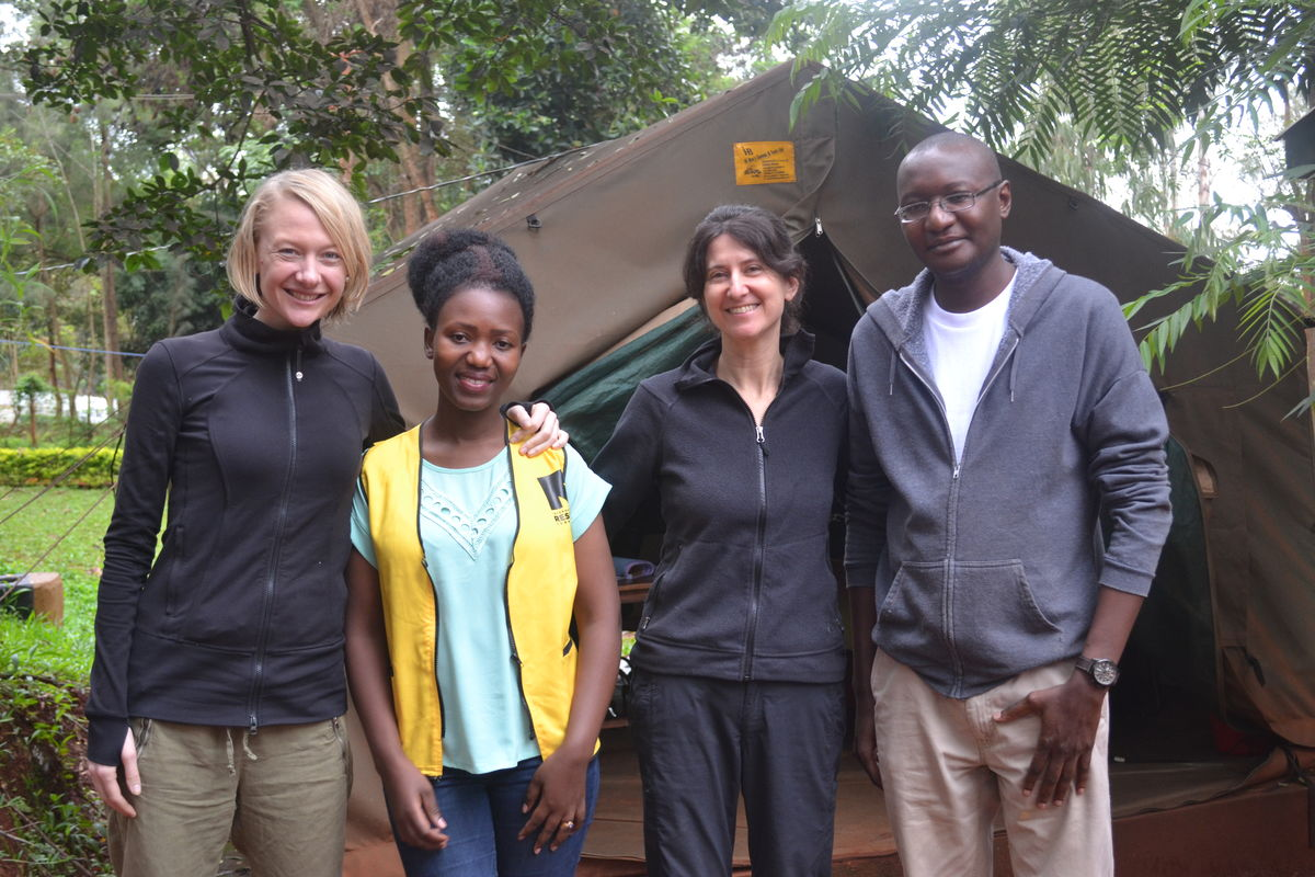 Marni Sommer - MHM in emergencies pilot team from Tanzania