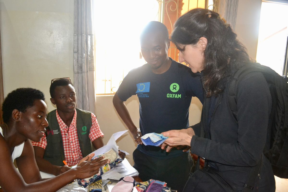 Marni Sommer on a recent trip to Tanzania