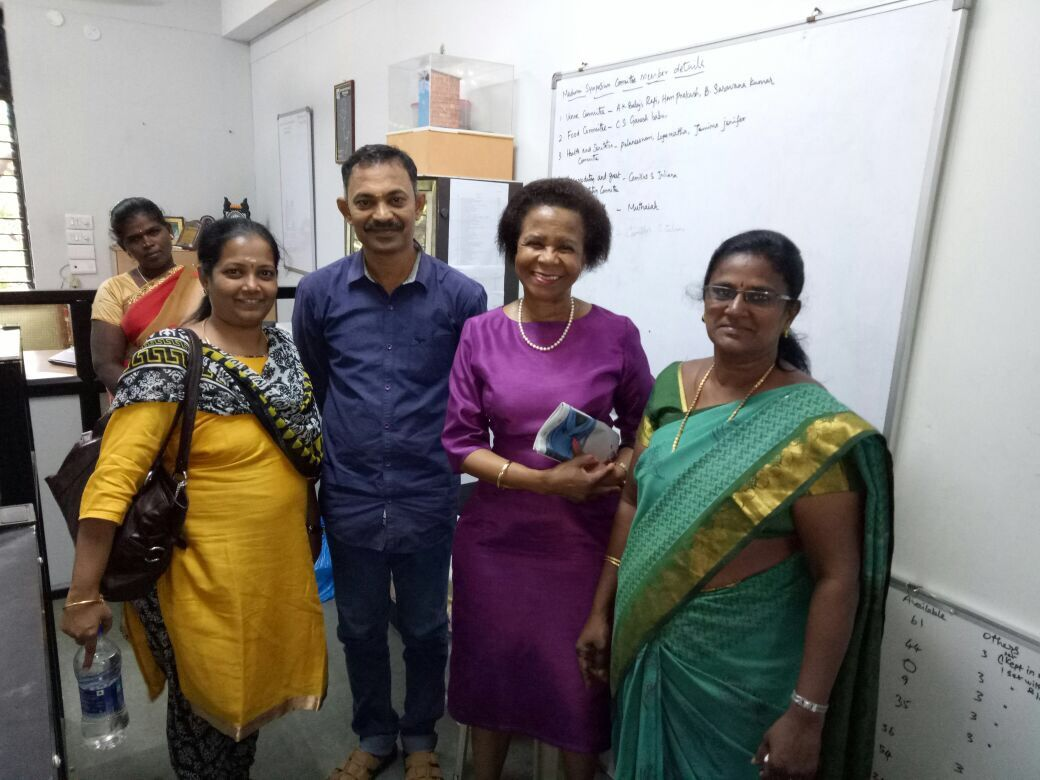 Dr. Mamphela Ramphele at Dhan Foundation's 2017 Madurai Symposium