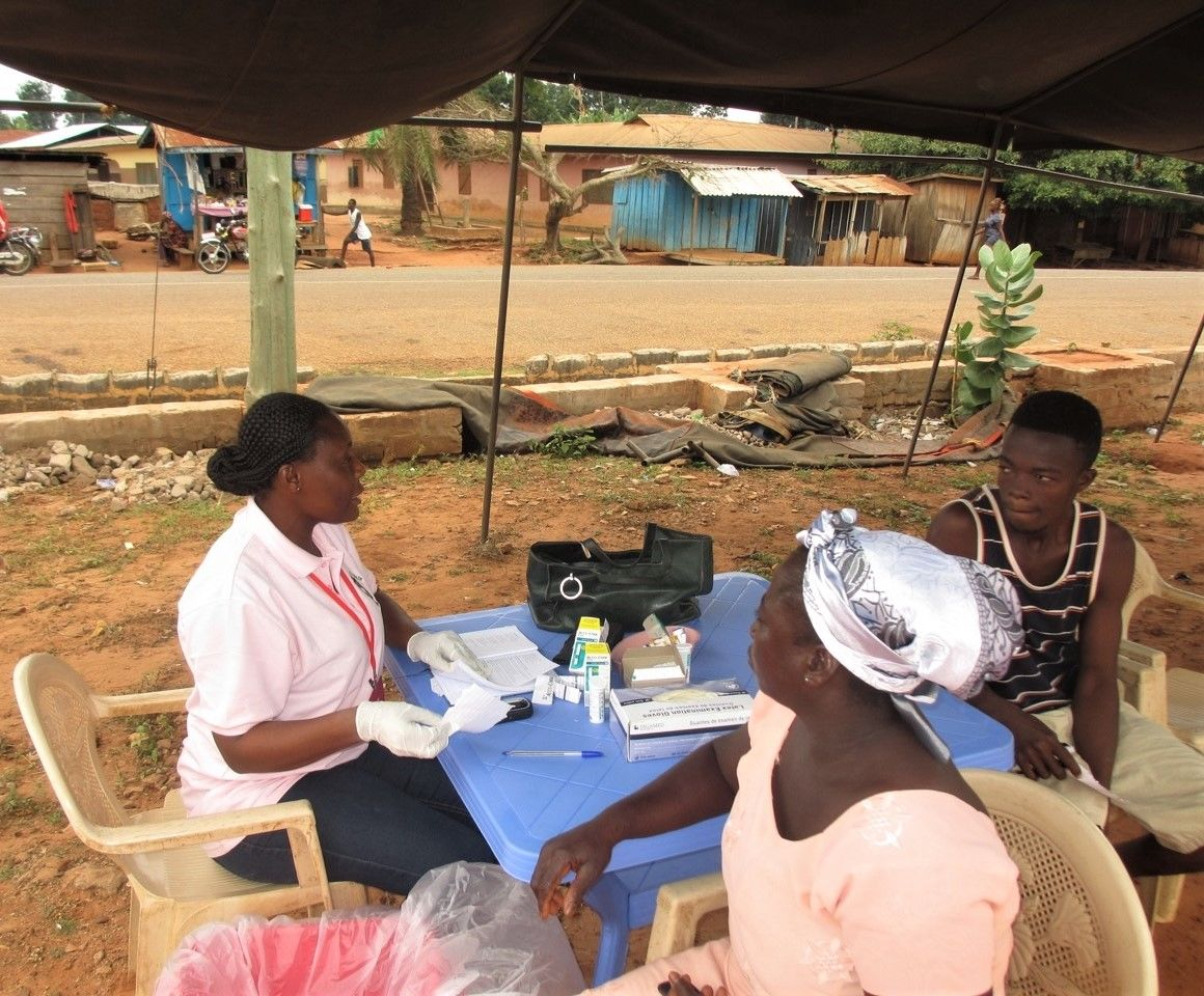 Diabetes screening in Ghana