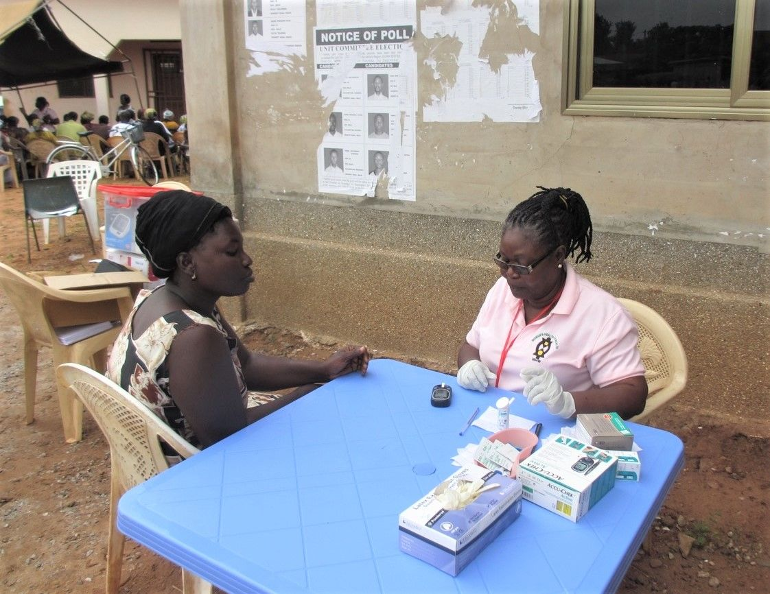 Diabetes screening in Ghana Health to Wealth
