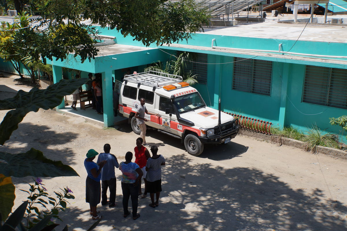 Borgne Hospital with Ambulance Haiti