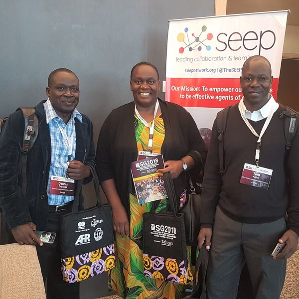 Beldina Opiyo-Omolo of Alice Visionary at SEEP's Global Savings Group Conference.